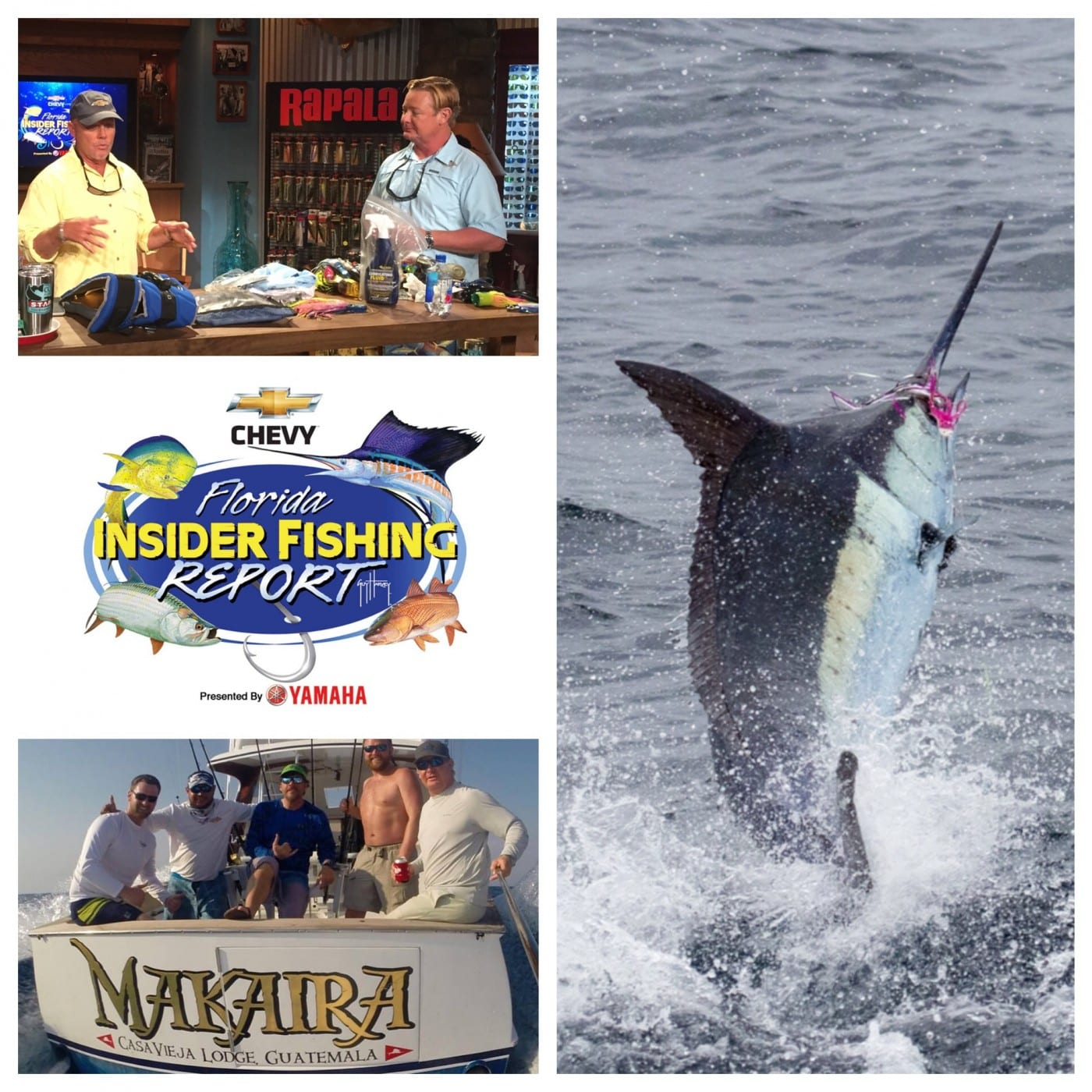 Watch capt jason brice on chevy florida insider fishing for Florida insider fishing report